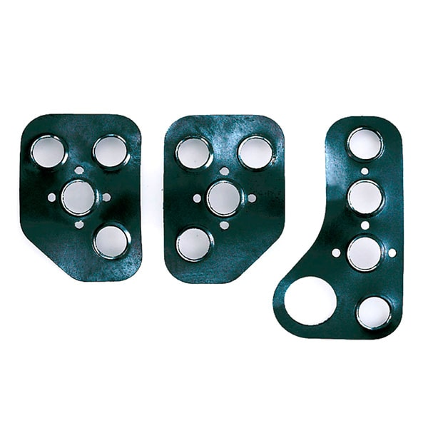Sparco racing pedal set stainless steel