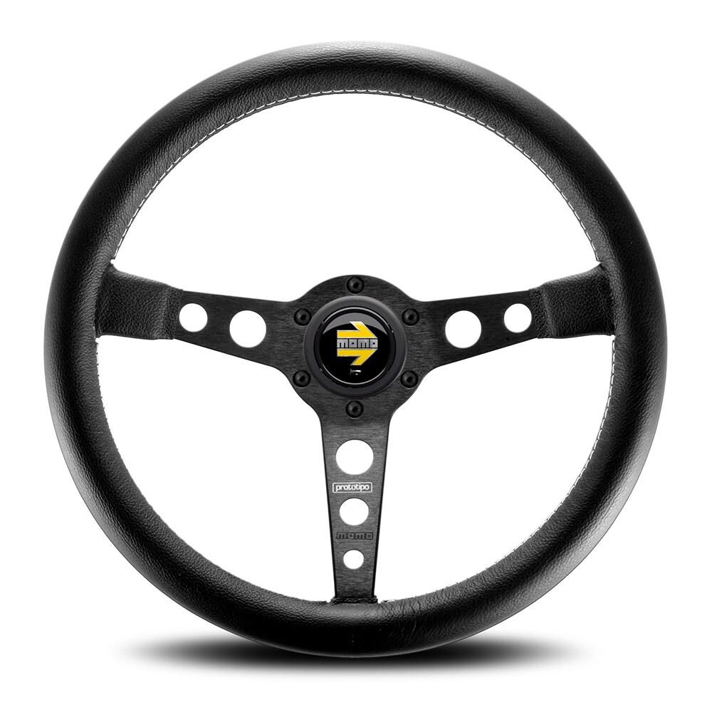 MOMO-steering wheel Prototipo Black/Black