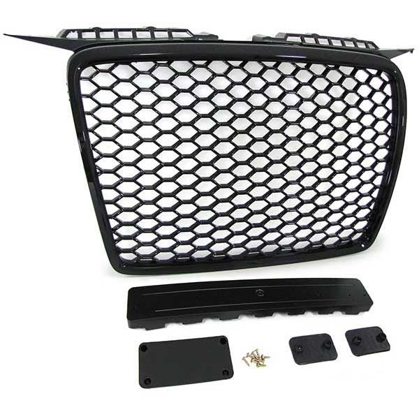 Audi A3 8P honeycomb grille SC Styling