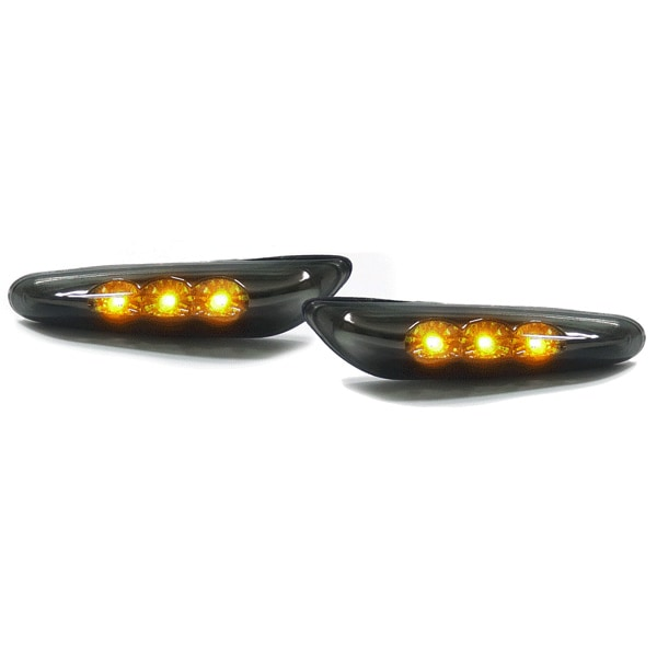 LED indicators black