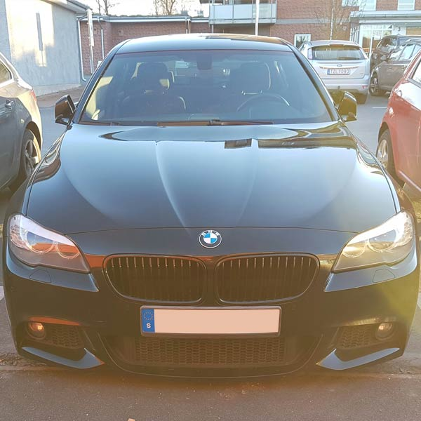 Shiny black kidneys BMW F10 & F11
