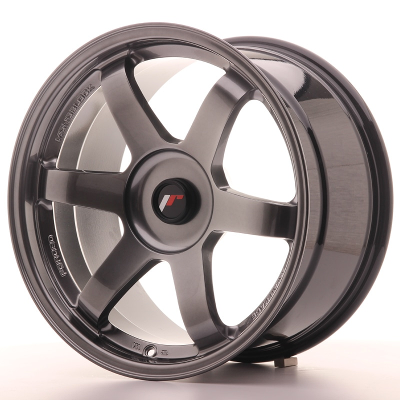 Complete wheel set of  JR3 Hyperblack 9,5x18 5/112 ET25