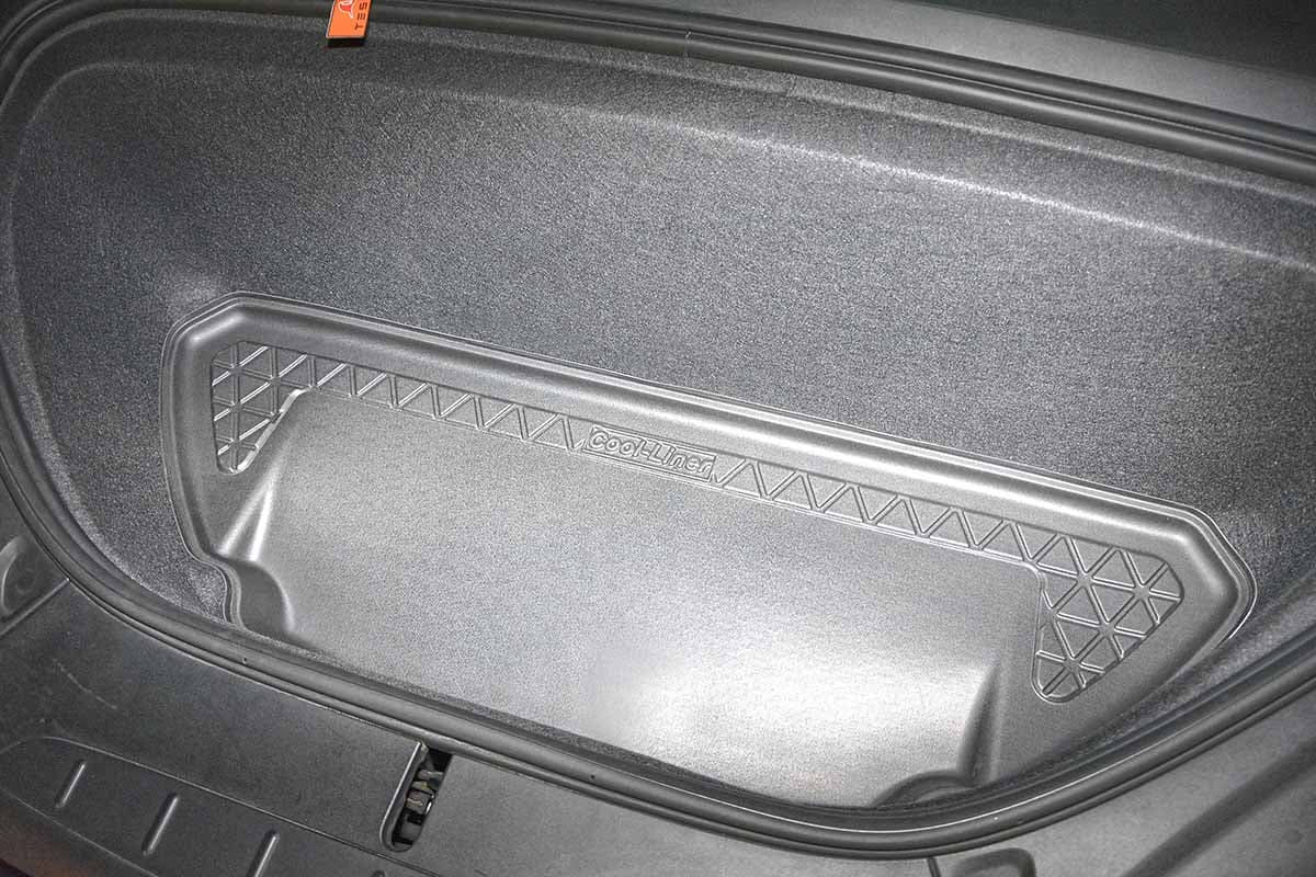 Rear cargo boot trunk mat Tesla Model X