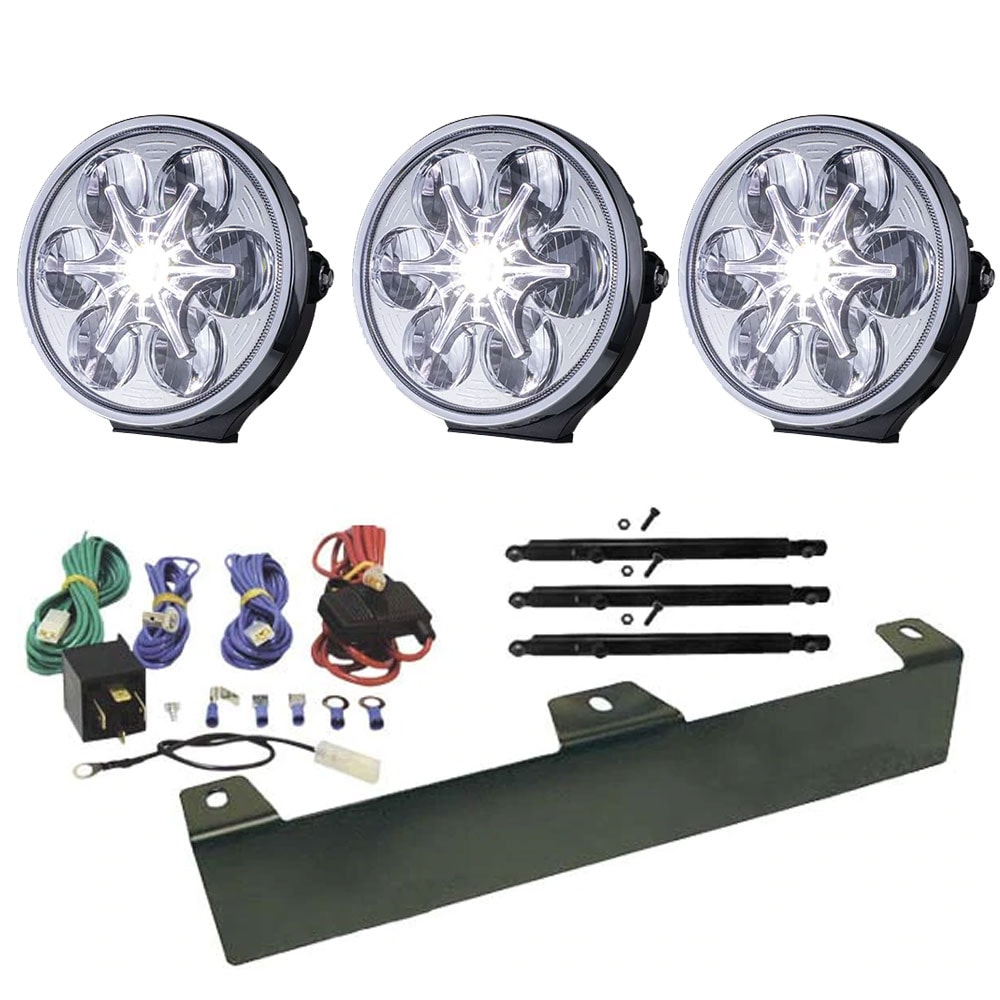 Package extra light  Sveg LED clear glass 9´