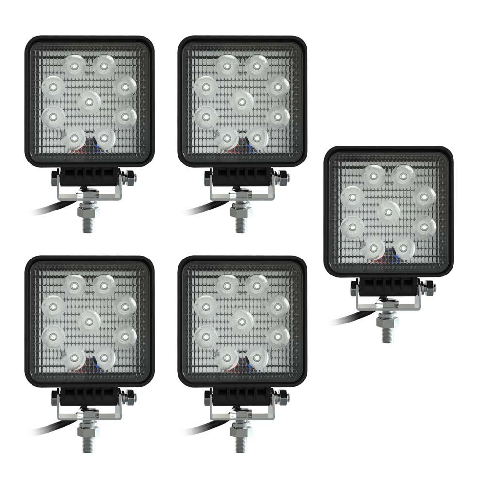 Swedstuff work light LED 9W 12-24V DC