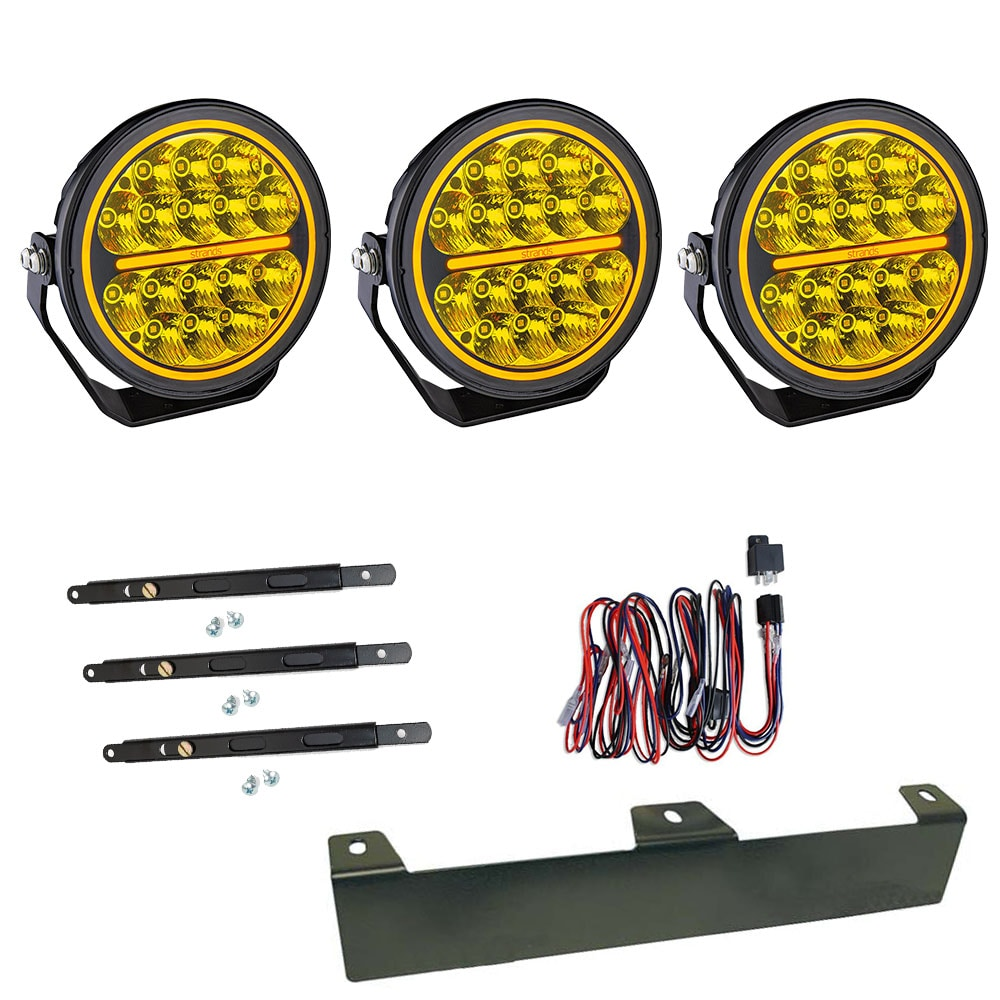 3-Pack Extraljus Siberia Bush Ranger 7´ LED - SLD