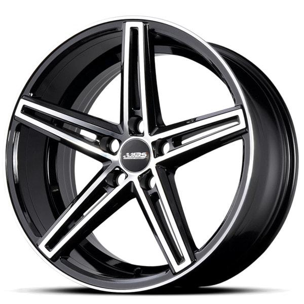 ABS 382 Black Polish alloywheel