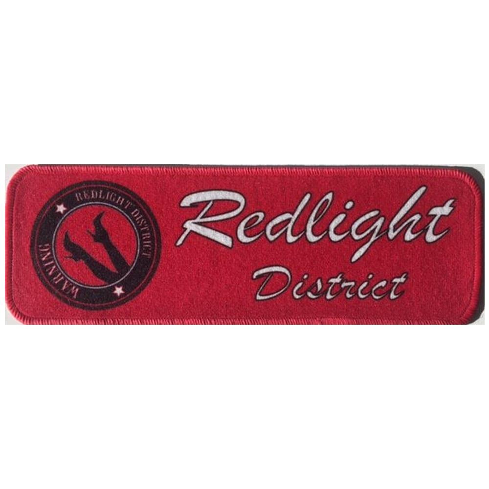 Tygmatta för instrumentbrädan - Redlight District