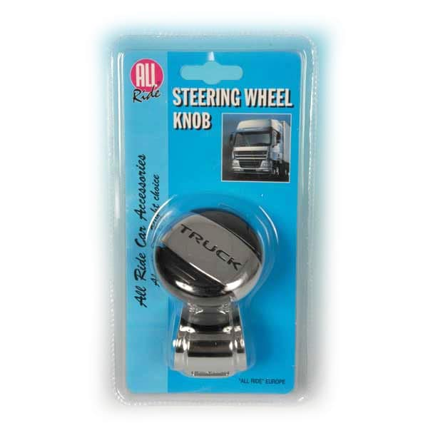 Steering wheel knob  Black ´Truck´´´
