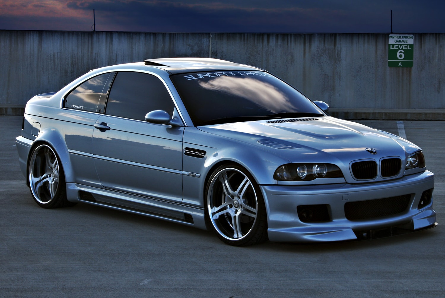 H R Adjustable Chassi Bmw E46 M3 Sc Styling