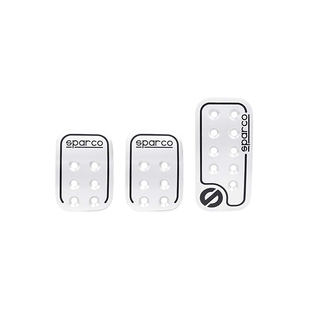 Sparco pedalset Silver