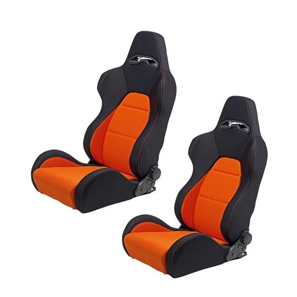 Sport seats Black/Orange