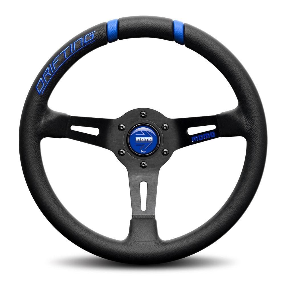 MOMO steering wheel - Drifting Black/Blue