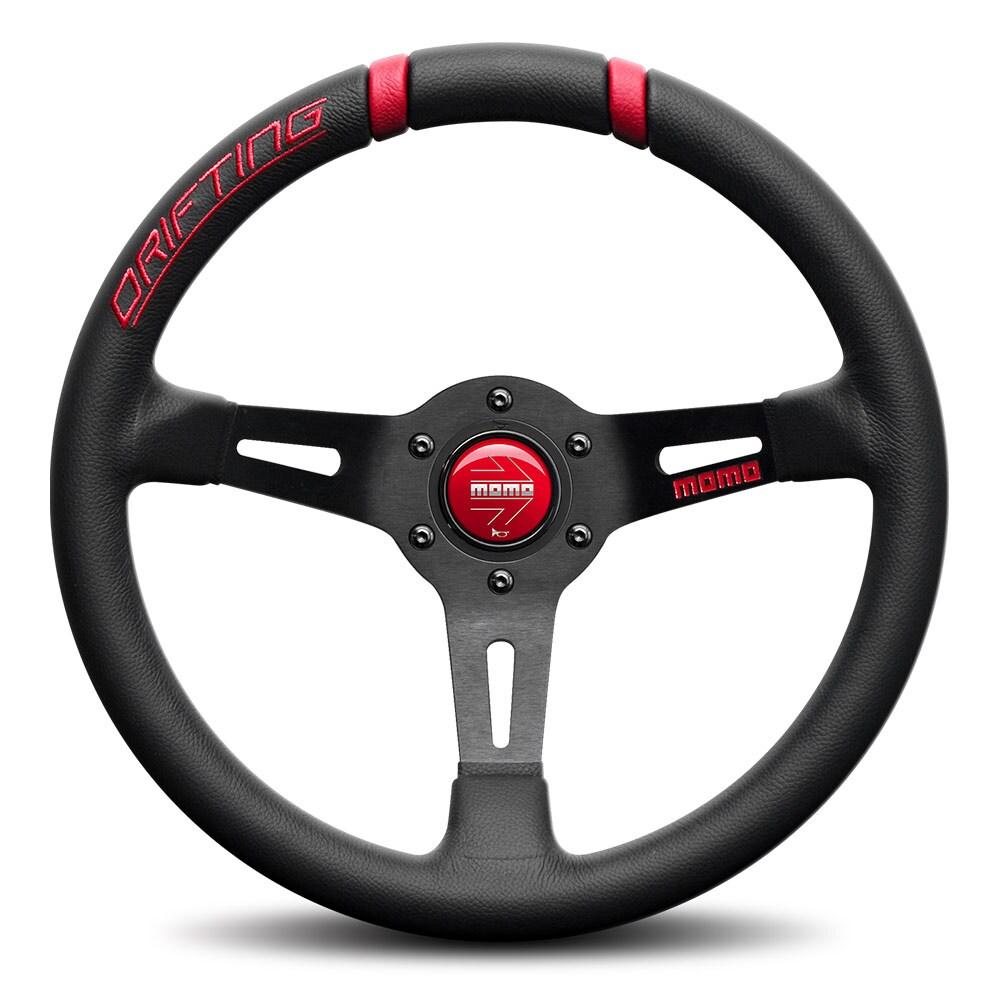 MOMO steering wheel - Drifting Red