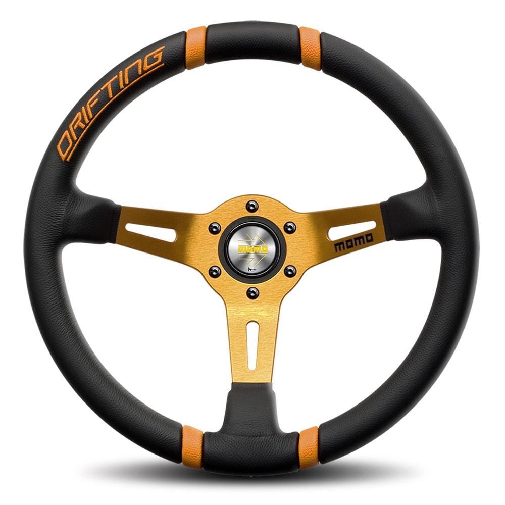 MOMO Steering wheel-drifting orange