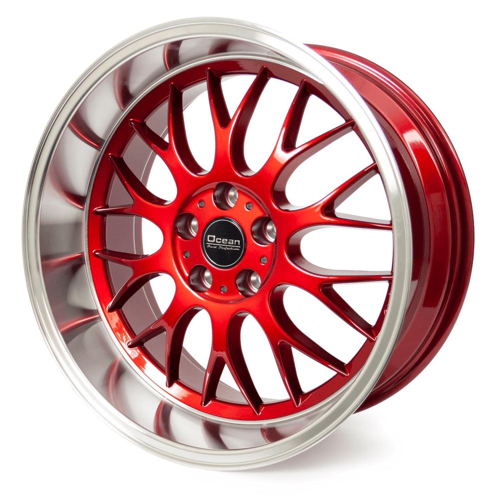 Ocean DTM Platinum Red 8,5*18 5/108 ET6
