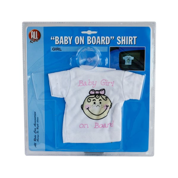 Dekoration T-shirt ´Baby girl on board´