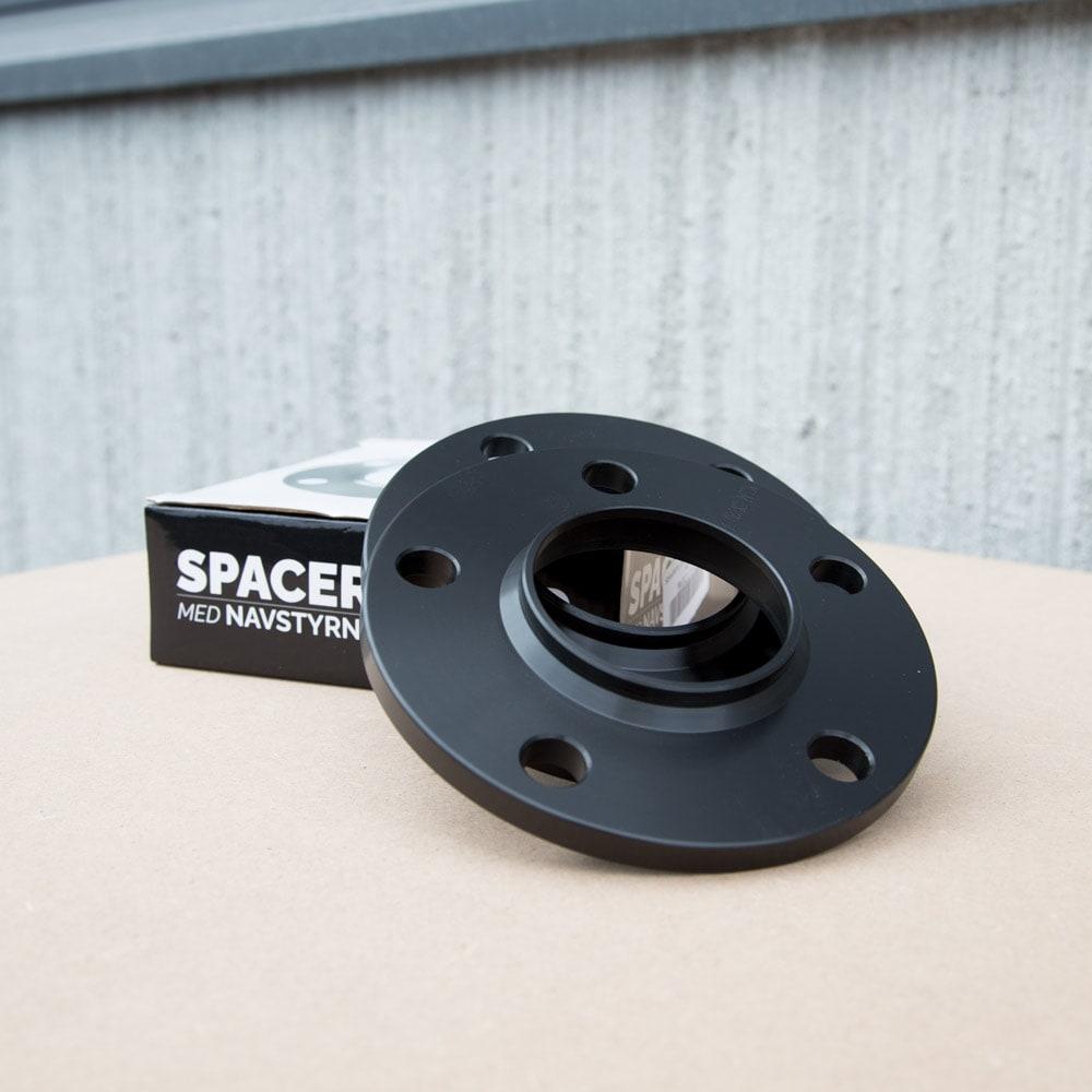 Black Spacers 10mm Bmw