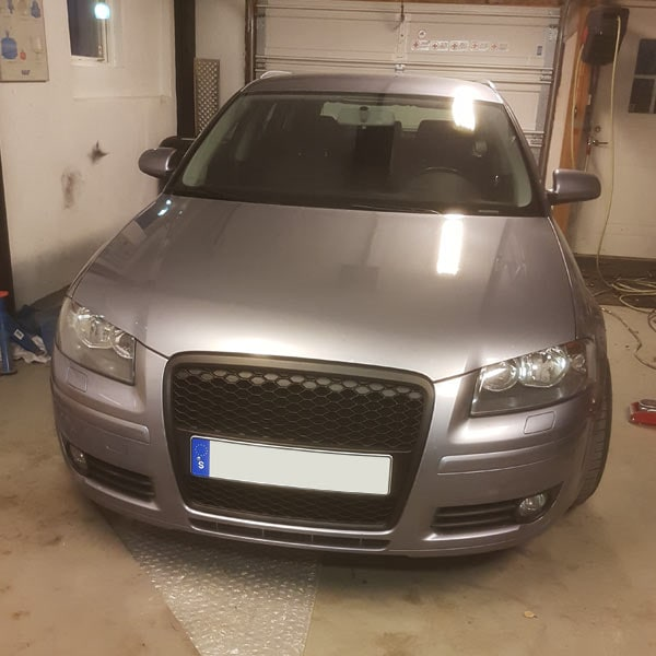 Audi A3 8P Racedesign without logo SC Styling