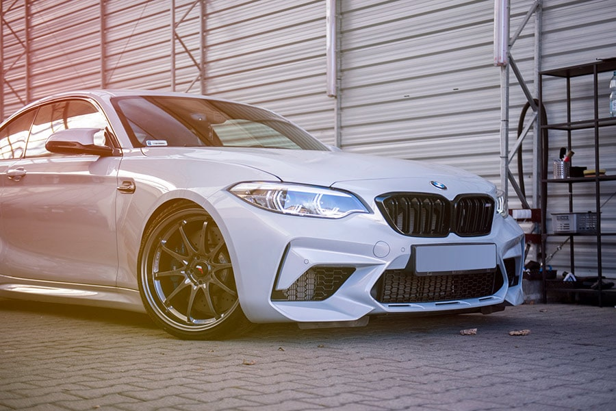 Car styling for BMW 2 series f45 Grand tourer 2015 IN