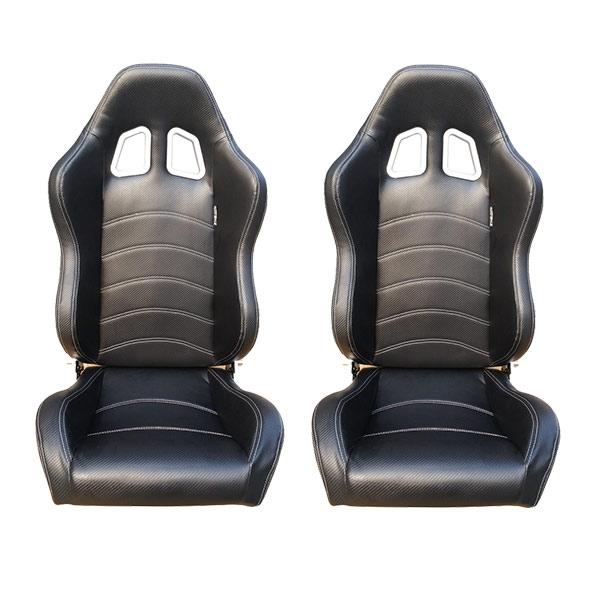 Sports car seat chair Carbon fibre look