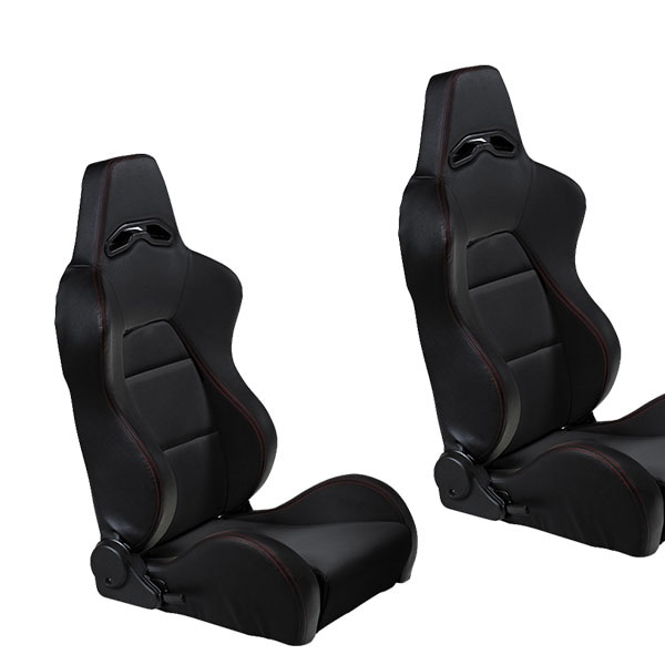 Sport seats Black/Red